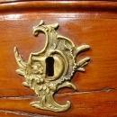 18th Century Louis XV Walnut Wood Commode