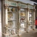 Magnificent Painted French Bibliotheque 18th Century Elements