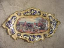 Enameled Platter from France-1900s