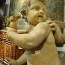 Re-Constituted Stone Cupids Statue from France