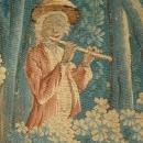 18th Century Silk and Wool Tapestry from France