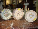 TWO Reproduction Museum Faience Plates