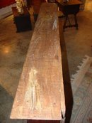 Antique Oak Buffet Shelf from France