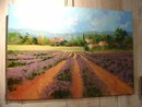 Signed French Oil Painting: