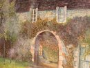 Oil Painting on Canvas-French Manor House