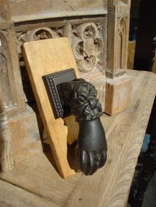Small Iron Door Knocker From France