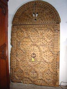Monastery Door from Seville Spain, 17th Century