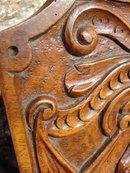 18th Century Walnut Wood Crib Sides-France