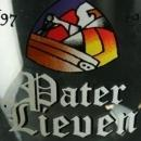 Vintage Belgian Abbey Ale Pater Lieven Beer Glass for your barware collection