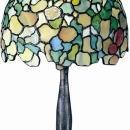 New Accent Lamp Antique Bronze Dale Tiffany 2-Light Hydrangea Metal Hand- DY-344