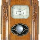 Large Antique Art Deco Westminster Regulator Wall Clock