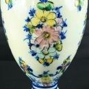 Vintage Portuguese Majolica Hand-Painted Pitcher Vase