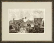 New Print Anonymous Reproduction Framed Landscapes Etched Landscapes Rect WA-105