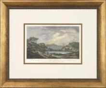 New Print T.C. Richard de Saint-Hon Reproduction Framed Travel Views of N WA-416