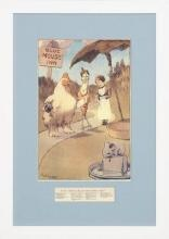 New Print Robinson Reproduction Framed Childrens Stories Rectangle WA-392