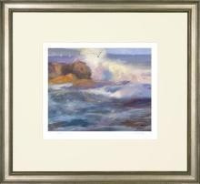New Fine Art Giclee Seascape Print, Chun Wang, Signed/Numbered/Framed, Ltd Edn