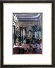 New Print Bernard Lamotte Reproduction Framed Proust Views Rectangle WA-141