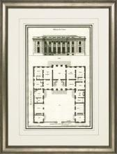 New Print Sieur de Neufforge Reproduction Framed Architecture DeNeufforge WA-406