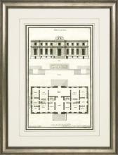New Print Sieur de Neufforge Reproduction Framed Architecture DeNeufforge WA-408