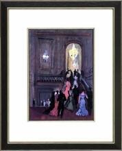 New Print Bernard Lamotte Reproduction Framed Proust Views Rectangle WA-144