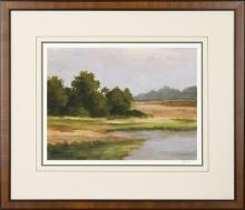 New Print Ethan Harper Reproduction Framed Landscapes Spring Light Rectan WA-232