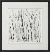 New Fine Art Giclee Print, Sharon Gordon, Woodland Birches, Signed/Numbered