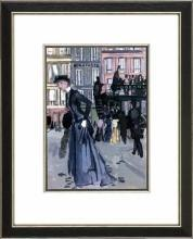 New Print Bernard Lamotte Reproduction Framed Proust Views Rectangle WA-149