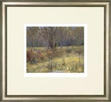 New Fine Art Giclee Print, Meadow Trees, Chun Wang, Signed/Numbered/Framed