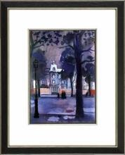 New Print Bernard Lamotte Reproduction Framed Proust Views Rectangle WA-146