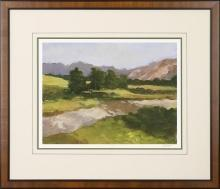 New Print Ethan Harper Reproduction Framed Landscapes Spring Lights Recta WA-236