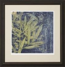 New Fine Art Giclee Print Reproduction, Green Leaves Midnight Illumination