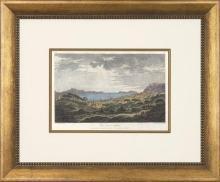 New Print T.C. Richard de Saint-Hon Reproduction Framed Travel Views of N WA-418