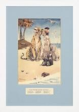 New Print Robinson Reproduction Framed Childrens Stories Rectangle WA-390