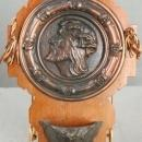 NICE Large Vintage Holy Water Font Copper Jesus Christ