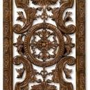 New Jonathan Charles Artwork Oak Carved Tudor Oak Collection JC-883