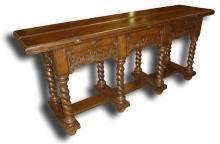 New Sofa Table Tudor Renaissance BG-195