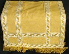 1970 Table Linen Gold Decorative Fabric 11-710-0