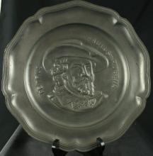 1950 Plate Peter Paul Rubens Decorative Pewter 12-35-0