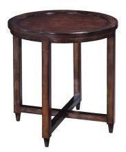 New Woodbridge Havana Side Table Round 27
