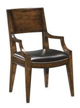 New Dining Arm Chair  Santa Fe Finish Hardwood Solid Wood WB-19