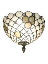 New Dale Tiffany 1-Light Wall Sconce Newport Heights Metal On/Off Hand-Ro DY-502