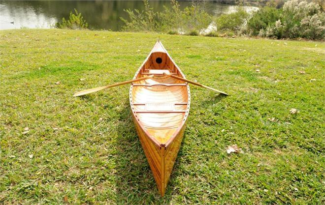 Canoe Reproduction With Ribs Curved Bow 12-Ft New OM-104