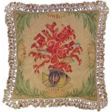 New Aubusson Throw Pillow Square 20