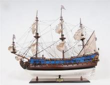 Model Ship Reproduction Goto Predestination Boats Sailing Painted New OM-254