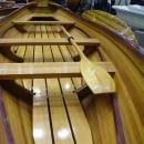 Dinghy Real Whitehall 17-Ft 4-People Marine Vanish Varnish Wood Epoxy Resi OM-91