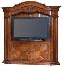 Media Cabinet Entertainment Center DAVID MICHAEL Rustic Antique Distresse DM-142