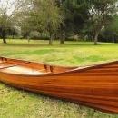 Canoe 16-Ft Clear Marine Vanish Varnish Western Red Cedar Strips of Epoxy  OM-87