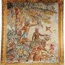 Tapestry DAVID MICHAEL TAPESTRIES Indian Fishermen Fishing 71x83 Cotton  DM-1521