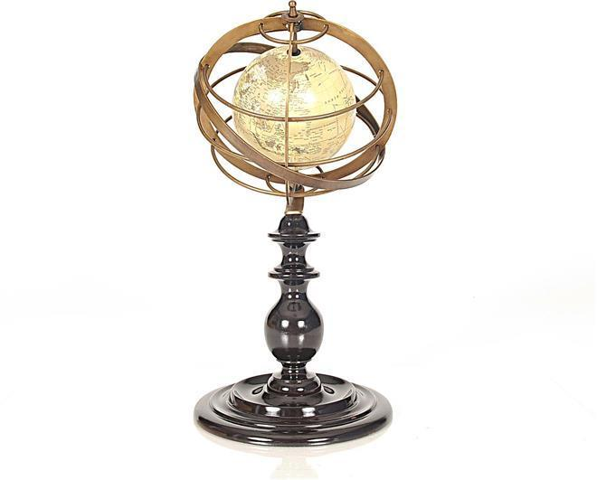 Armillary Sphere Brass Metal Rings New OM-142