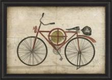 Artwork Bicycle with Fireman